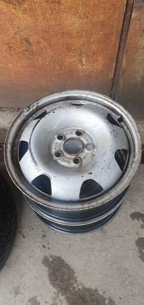 R17 plieniniai štampuoti  ratlankiai