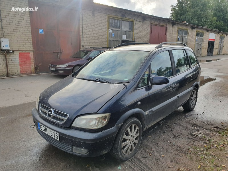Opel Zafira A 2.2 DYZELIS 92 KW 2003 m dalys
