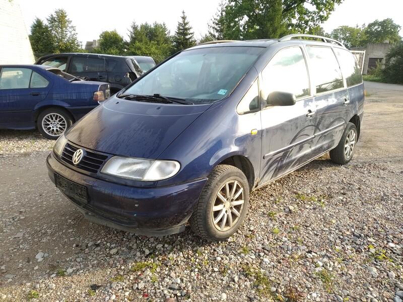 Volkswagen Sharan I 1999 m dalys