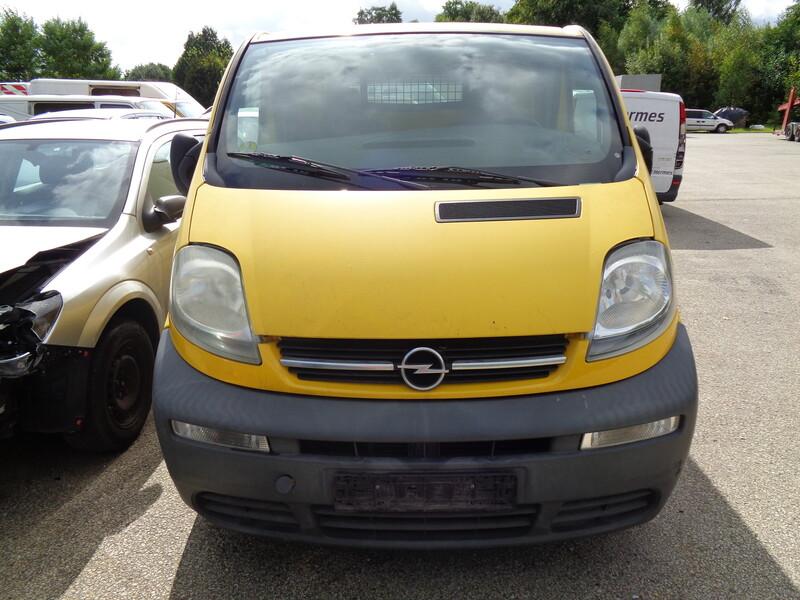 Opel Vivaro I 2004 m dalys