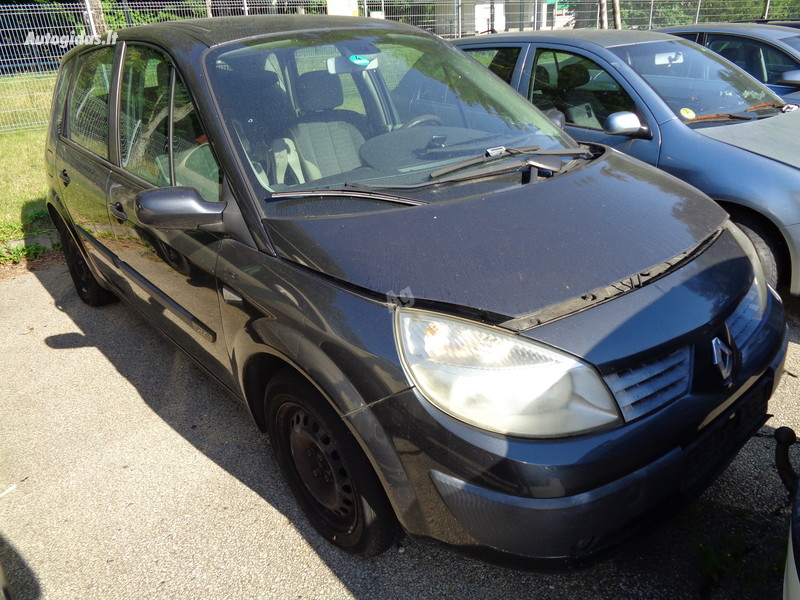 Renault Scenic II 2007 m dalys