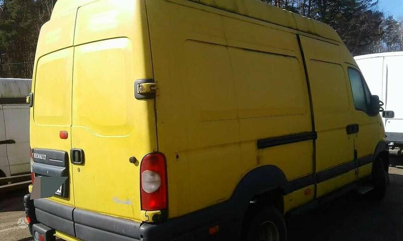 Renault Mascott 2006 m dalys