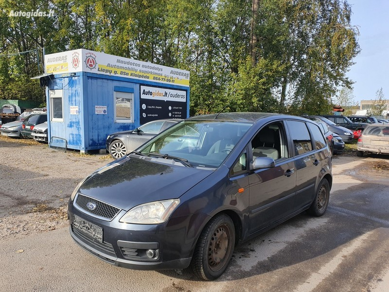 Ford Focus C-Max 1.8 DYZELIS 85 KW  2005 m dalys