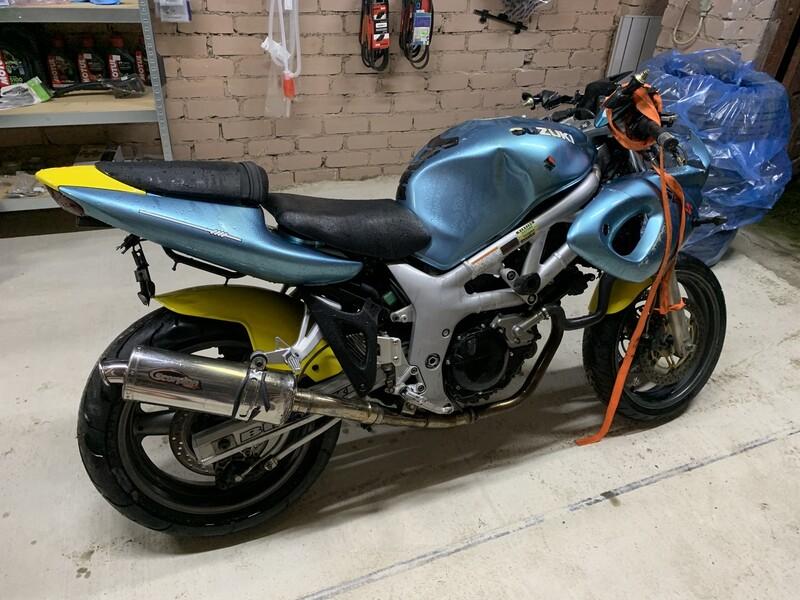 Sportinis / Superbike  Suzuki SV 1999 m dalys