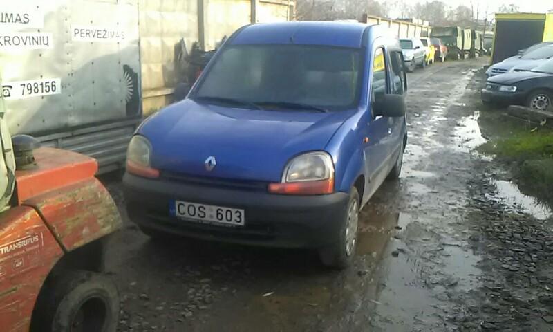 Renault Kangoo I 2000 m dalys