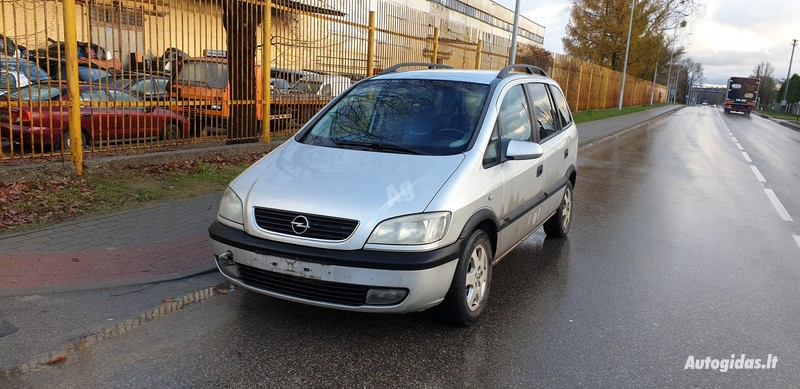 Opel Zafira A 60 kW 1999 m dalys