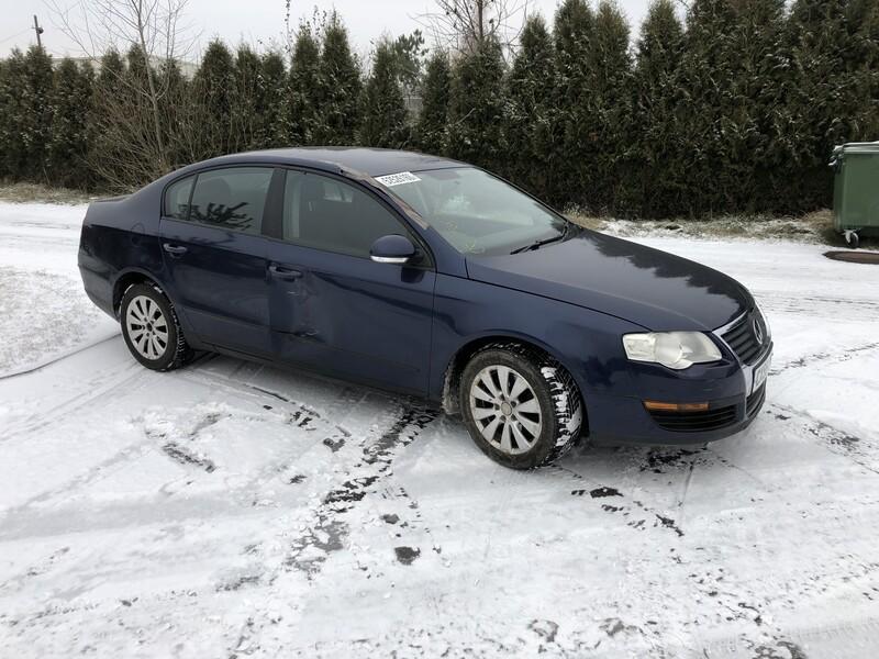 Volkswagen Passat TDI 2008 m dalys