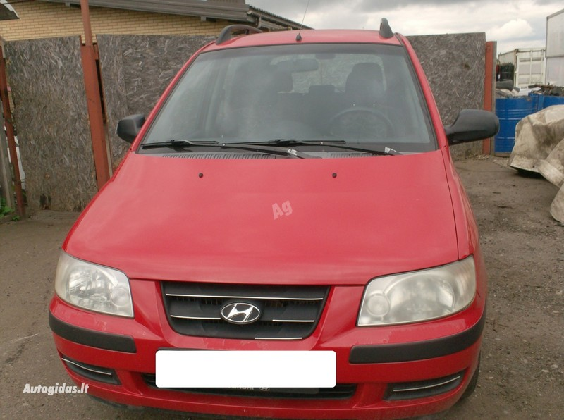 Hyundai Matrix 2005 m dalys