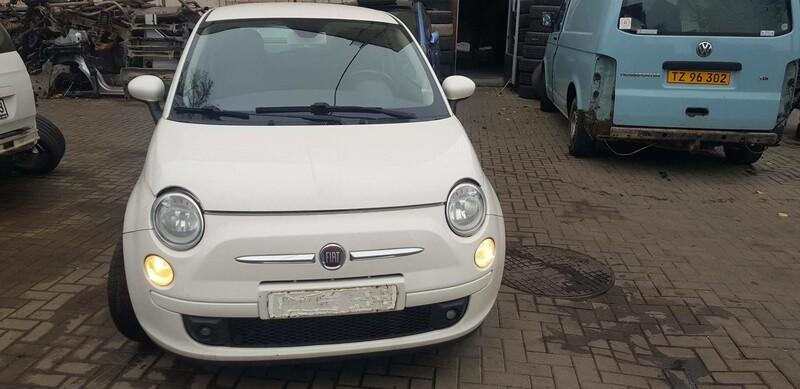 Fiat 500 2007 m dalys