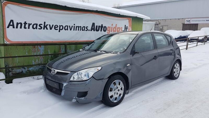 Hyundai I30 I 2009 m dalys