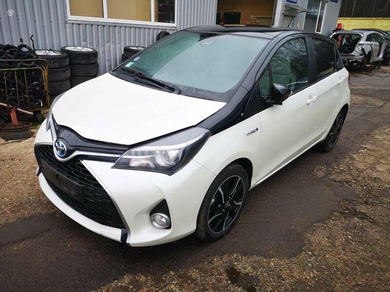 Toyota Yaris Europa Dalimis 2016 m dalys