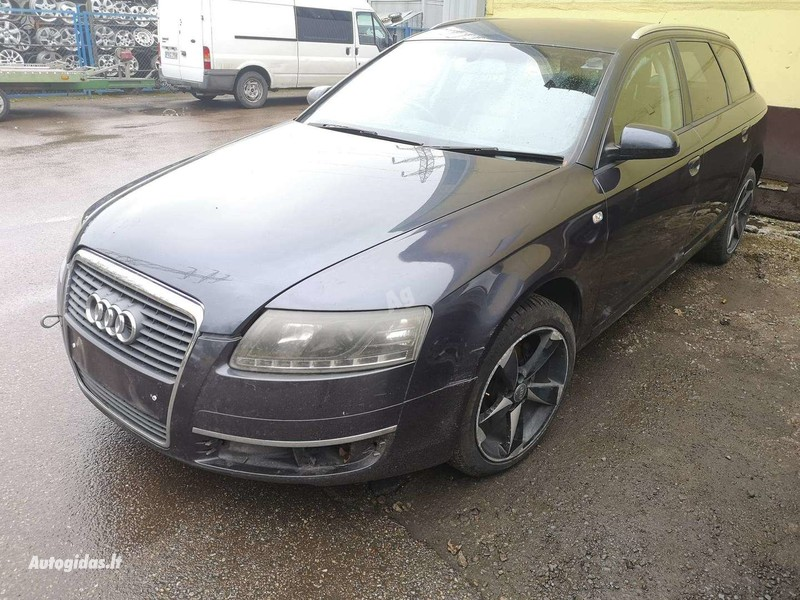 Audi A6 Tel 370 2006 m dalys