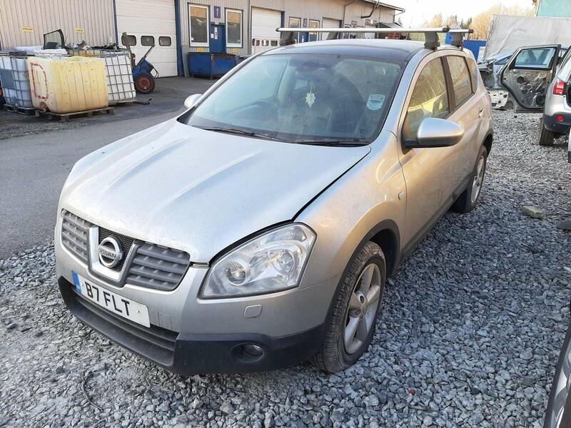 Nissan Qashqai Anglas Dalimis 2007 m dalys