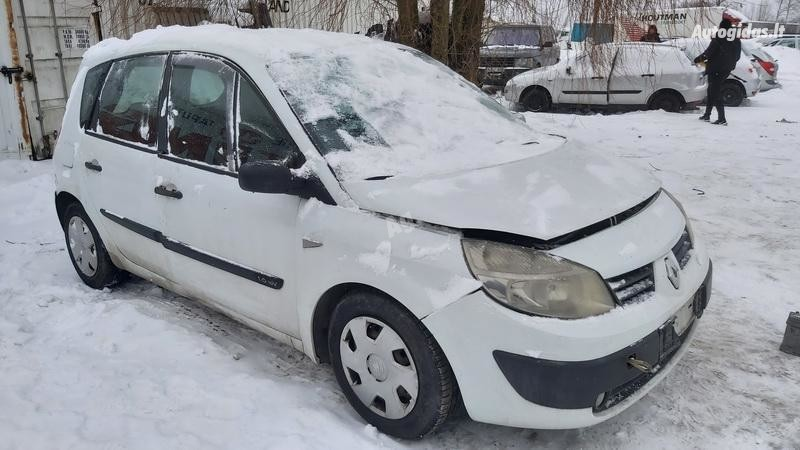 Renault Scenic 2004 m dalys