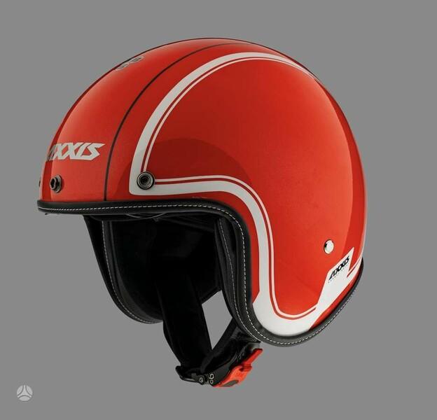 Шлемы  AXXIS jet hornet red gloss, atvi