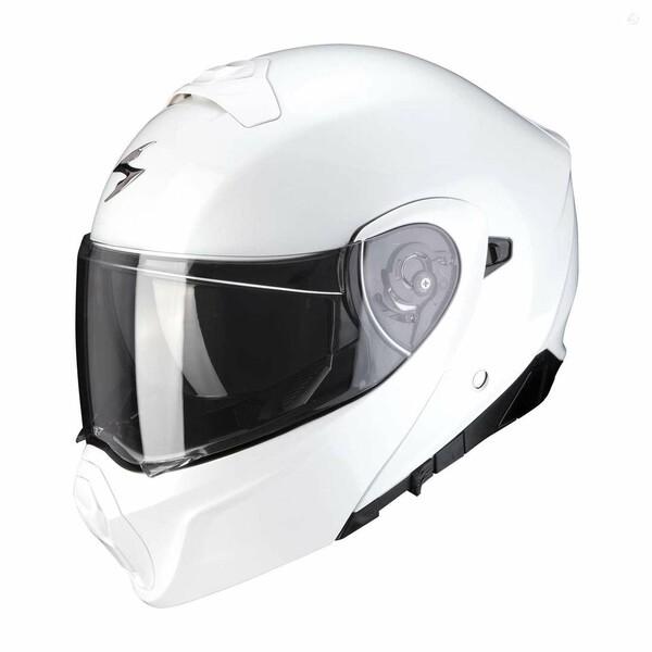 Šalmas  Scorpion EXO-930 white moto