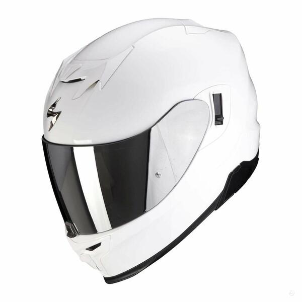 Šalmas  Scorpion EXO-520 white moto