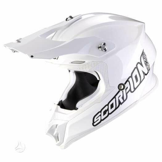 Šalmas  Scorpion VX - 16 white moto