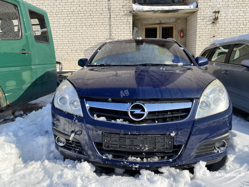 Opel Signum 2006 m dalys