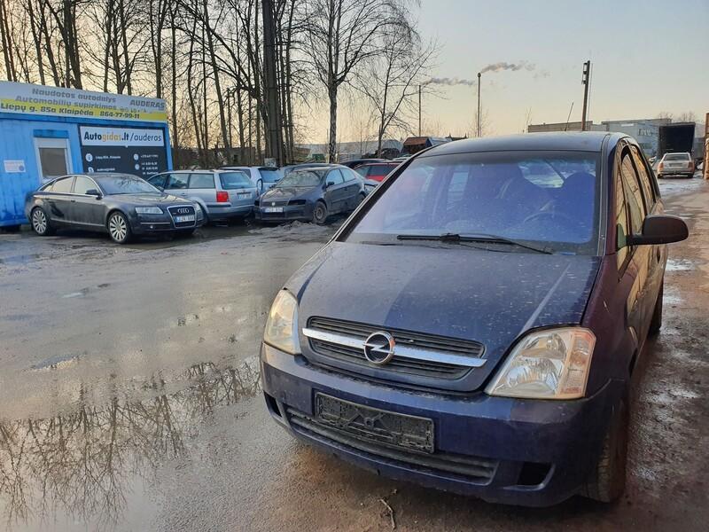 Opel Meriva I 1.6 BENZINAS 64 KW 2003 m dalys