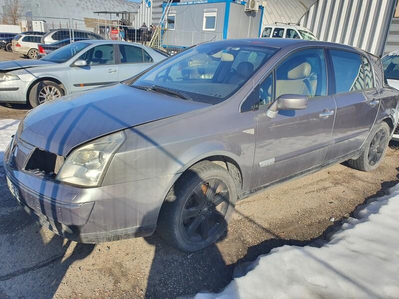 Renault Vel Satis exskliziv 2005 m dalys