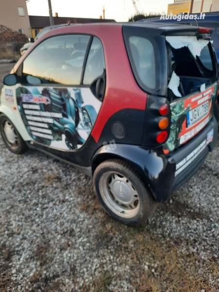 Smart Fortwo 1999 m dalys