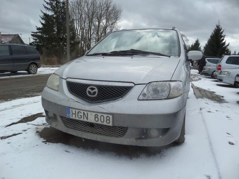 Mazda Mpv 2003 m dalys