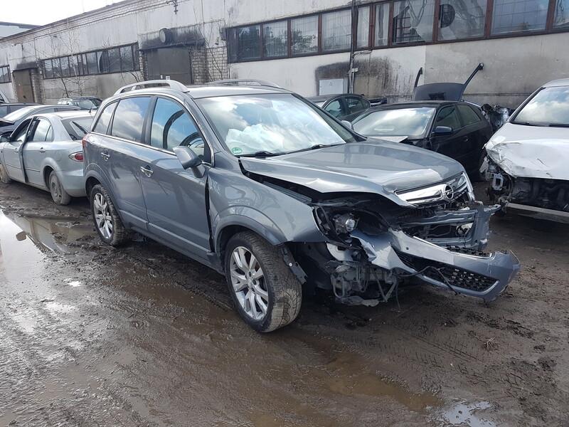 Opel Antara 2012 m dalys