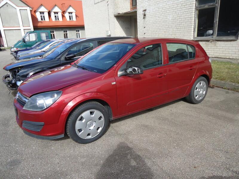 Opel II 2006 m dalys