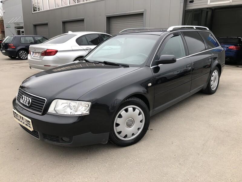 Audi A6 2002 m dalys