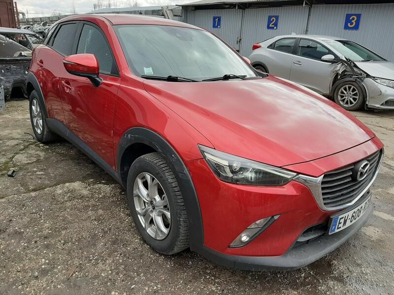Mazda Cx-3 2018 m dalys