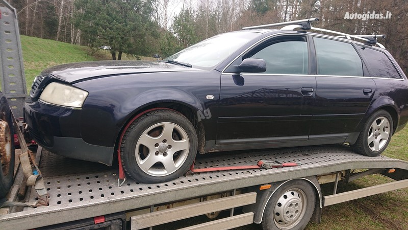 Audi A6 2003 m dalys