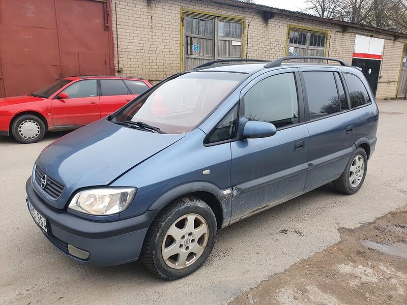 Opel Zafira 1.8 BENZINAS 92 KW 2000 m dalys
