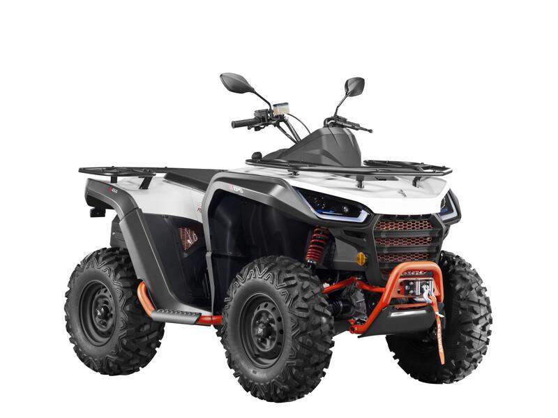 Keturratis  Segway Snarler AT6 S 2021 m motociklas