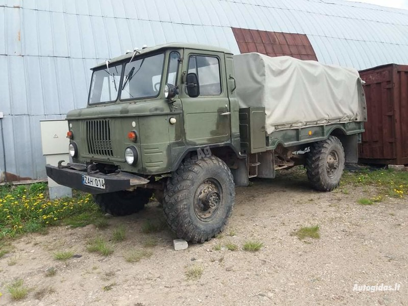 Bortinis  Gaz 66 1986 m