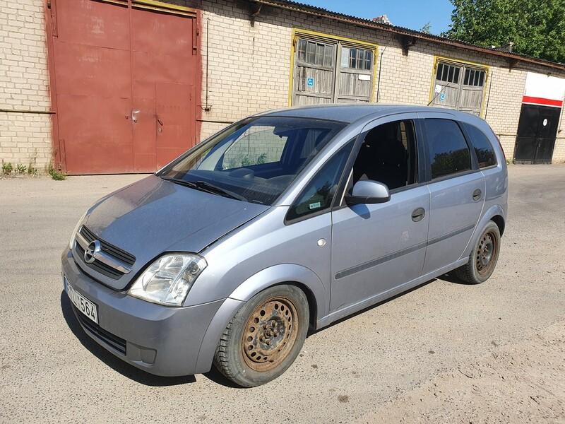 Opel Meriva I 1.7 DYZELIS 74 KW 2004 m dalys