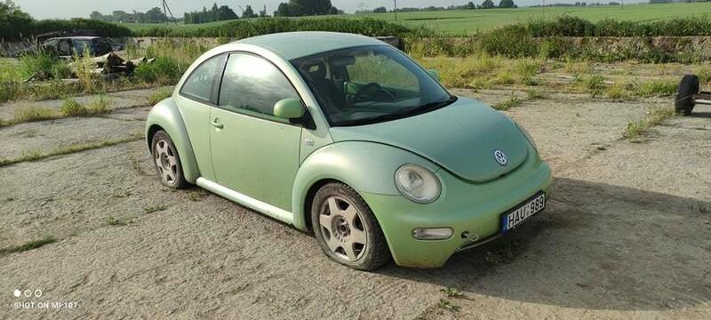 Volkswagen New Beetle 1999 m dalys