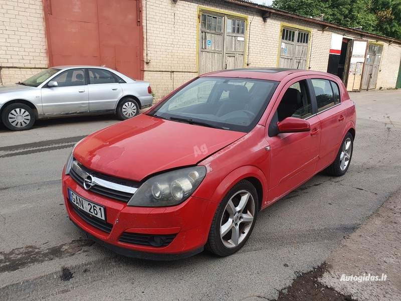 Opel Astra III 1.9 DYZELIS 110KW 2005 m dalys