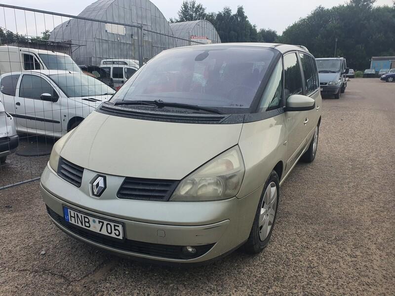 Renault Espace IV F4R 795 2003 m dalys