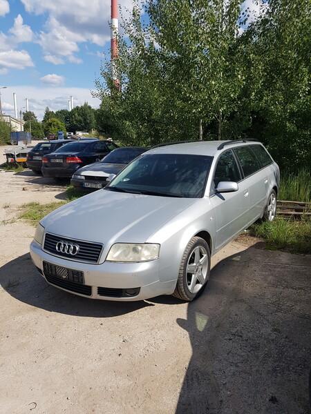 Audi A6 2004 m dalys