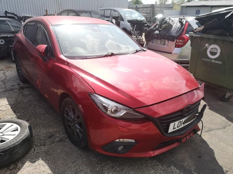 Mazda 3 2014 m dalys