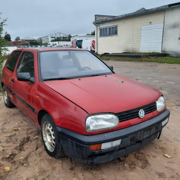 Volkswagen Golf 1992 m dalys