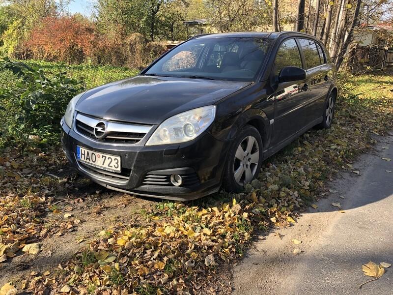 Opel Signum 2007 m dalys