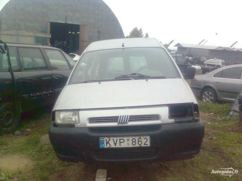Fiat Scudo 2000 m dalys
