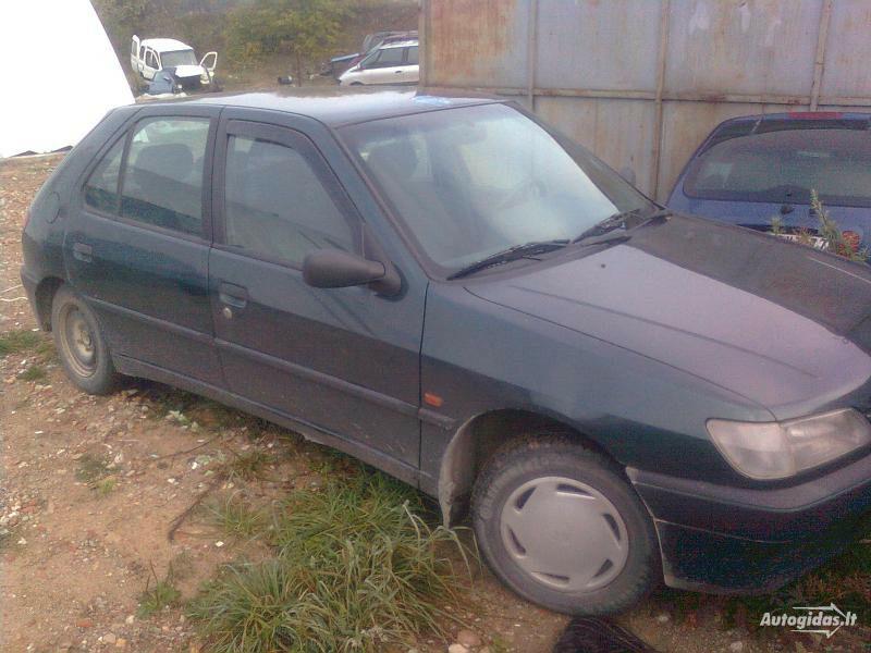 Peugeot 306 1994 m dalys