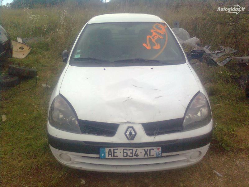 Renault Clio II 2003 m dalys