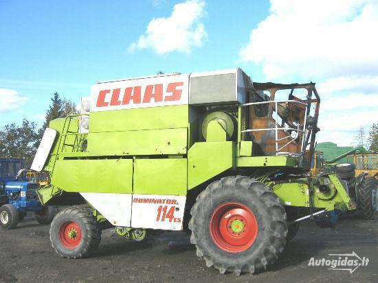 KOMBAINŲ DALYS IR TRAKTORIŲ REMONTAS, Žemės ūkio Savaeigė  John deere CLAAS MF DRONINBORG 2000 m dalys