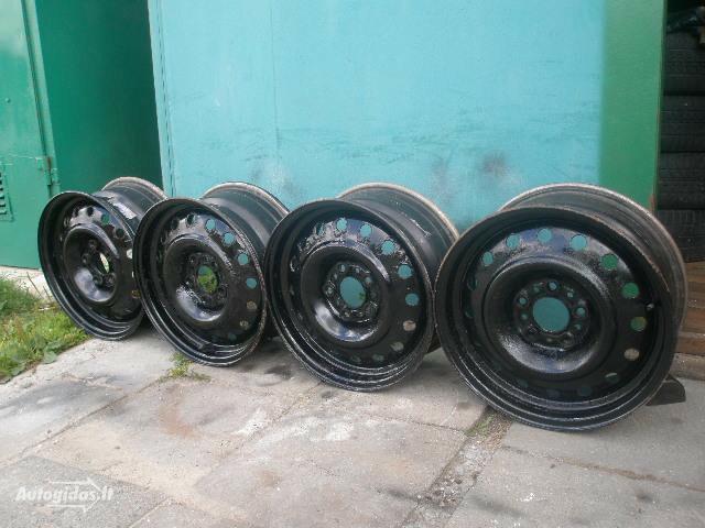 R14 plieniniai štampuoti  ratlankiai