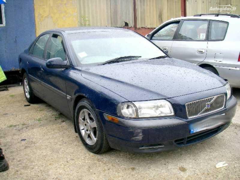 Volvo S80 1999 m. dalys