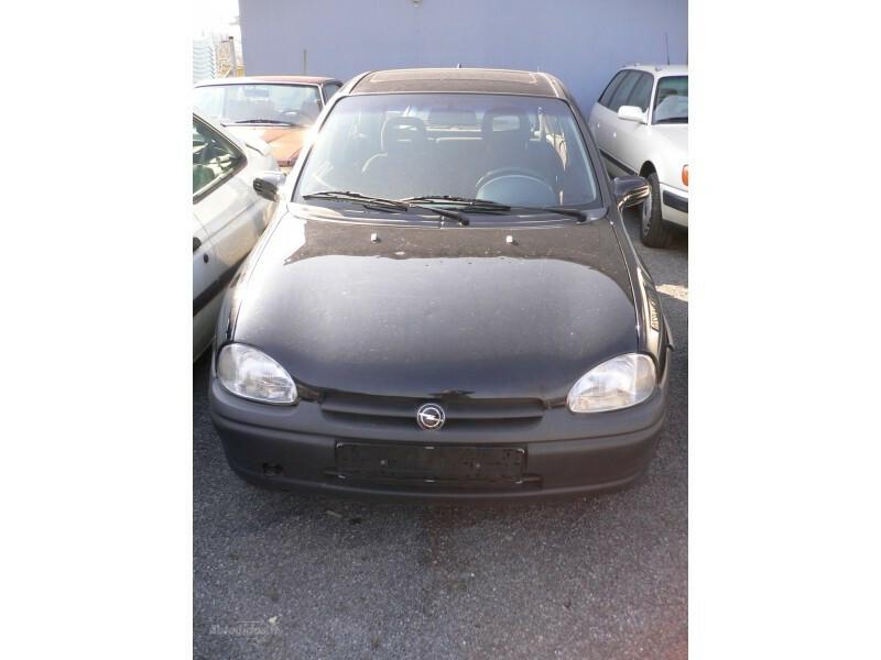 Opel Corsa B įvairūs varikliai 1996 m. dalys